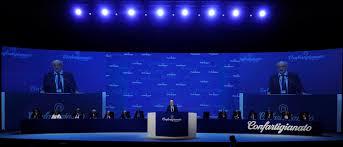 All'Assemblea della Confartigianato intervengono i vicepremier Salvini e Di Maio