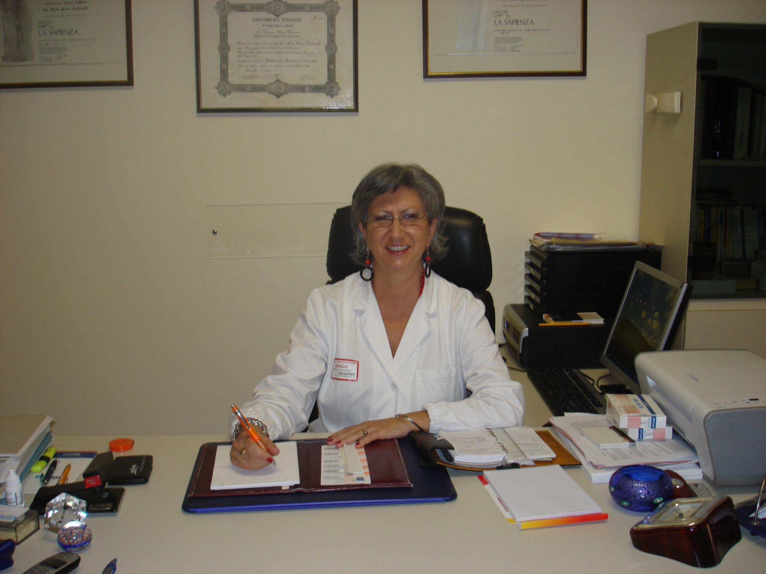 """Alimentazione e sani stili di vita – Intervista alla Dott.ssa Maria Grazia Carbonelli, Dirigente  Medico dell""""Ospedale San Camillo Forlanini"""