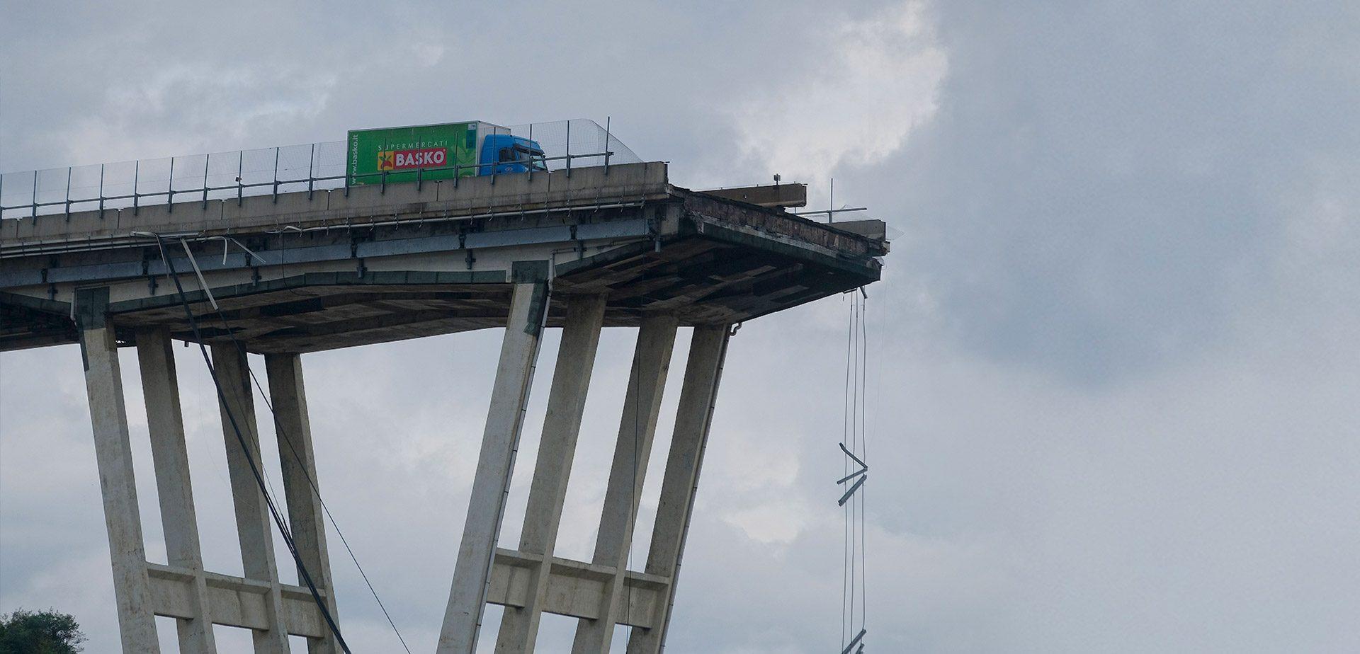 Ponte Morandi di Genova, rinvio a giudizio per 59 persone colpevoli del crollo