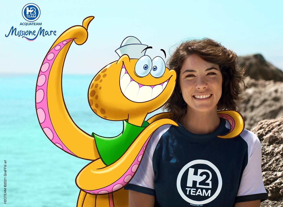 AcquaTeam-Missione Mare. Un'avventura animata nello scenario naturale della Sardegna con la biologa marina Mariasole Bianco