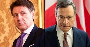Draghi- Conte, vertice tra due nominati senza consensi